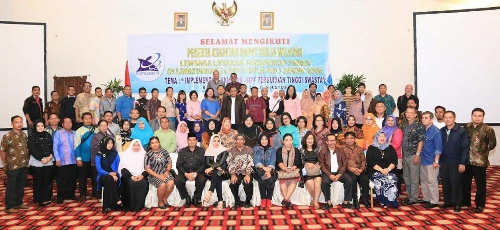 Rapat Kerja Wilayah Lembaga Layanan Pendidikan Tinggi di Lingkungan LLDIKTI Wilayah I Tahun 2018
