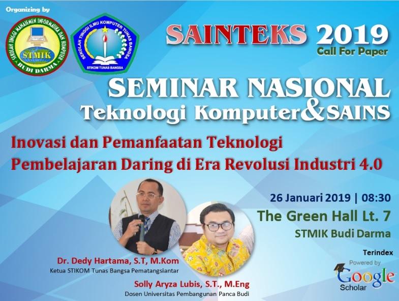 Seminar Nasional Sains dan Teknologi Informasi (SENSASI) 2018