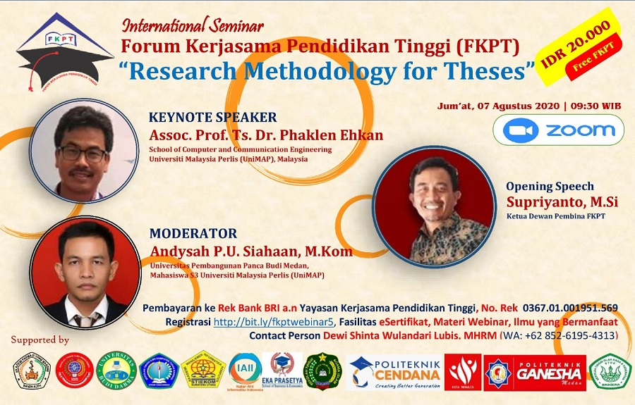 International Seminar Research Methodology for Theses