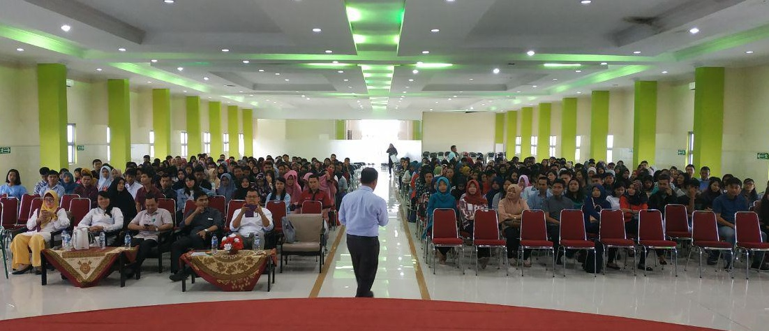 Pusat Karir STMIK Budi Darma Selenggarakan Seminar Dengan Tema Establishing Competent Fresh Graduate with High Qualification