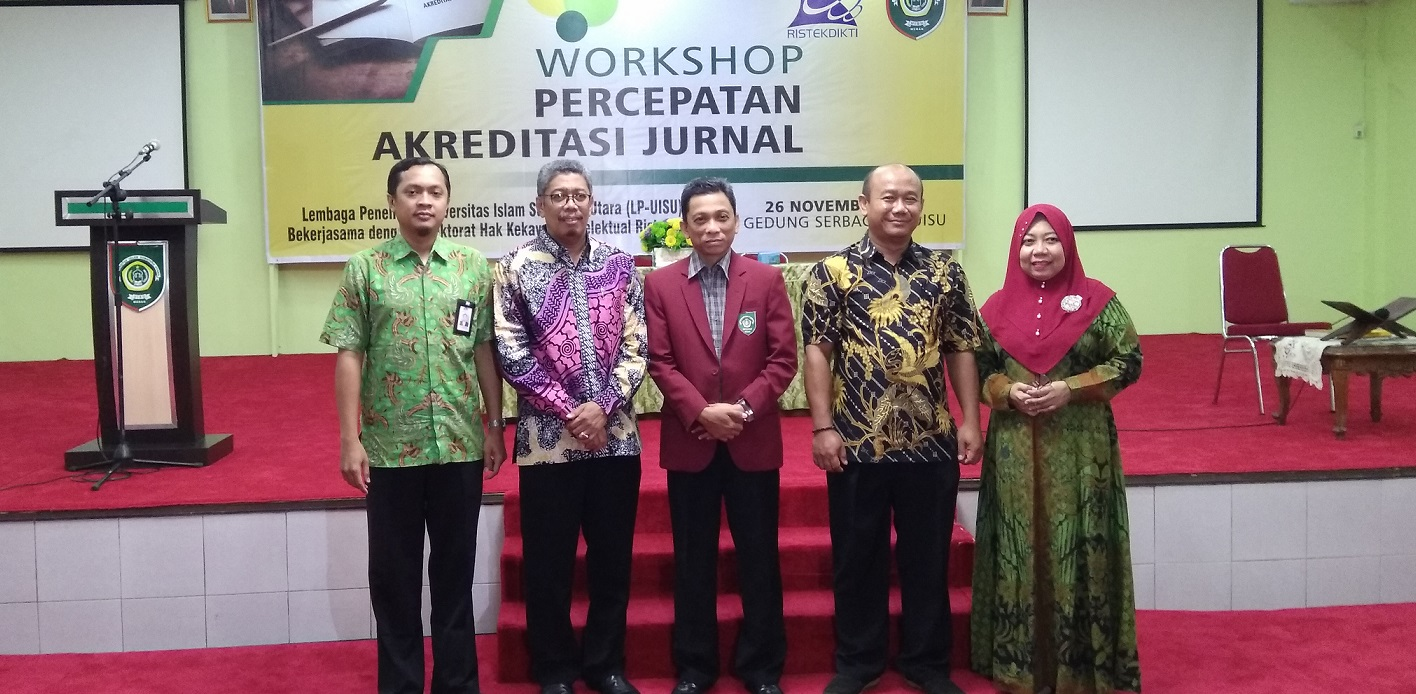UISU Selenggarakan Workshop Percepatan Akreditasi Jurnal