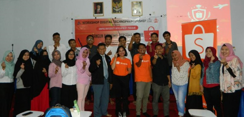 Pusat Karir STMIK AKBA Bekerjasama Dengan Shopee Selenggarakan Workshop Digital Technopreneurship