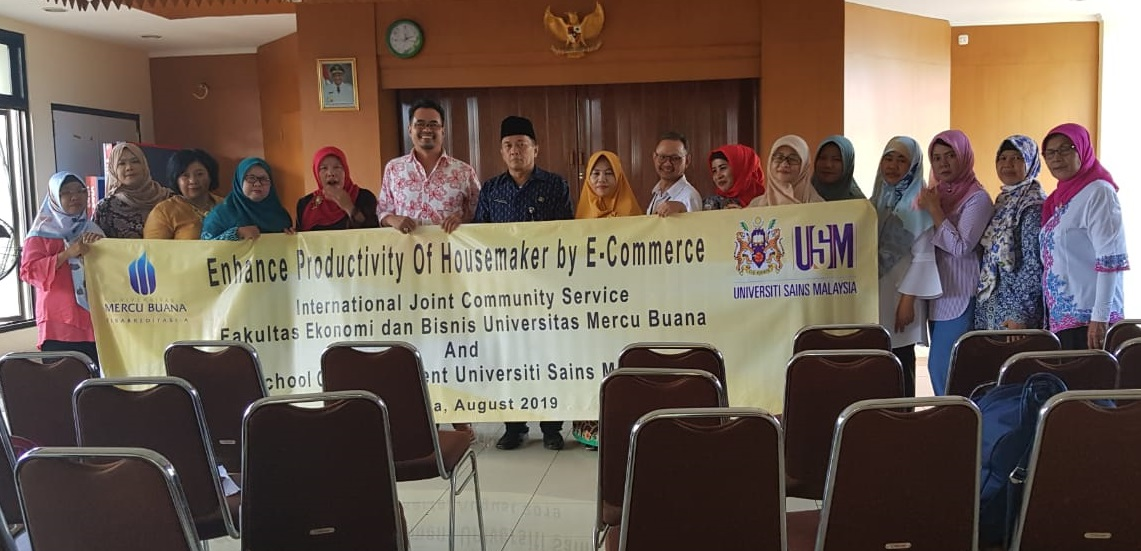Joint Community Service Between Universitas Mercu Buana (UMB) with Universiti Sains Malaysia (USM)