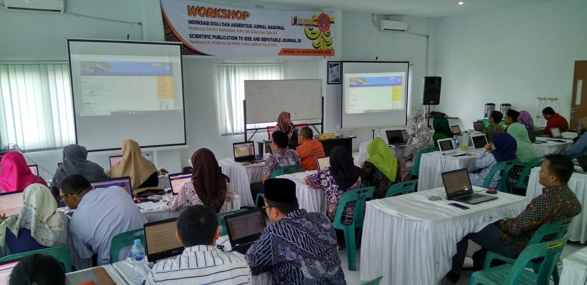 Relawan Jurnal Indonesia Korda Sumatera Utara Gelar Workshop